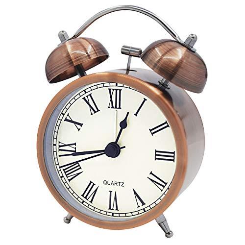 Coolzon® Reloj Despertador Doble Campana Clásico