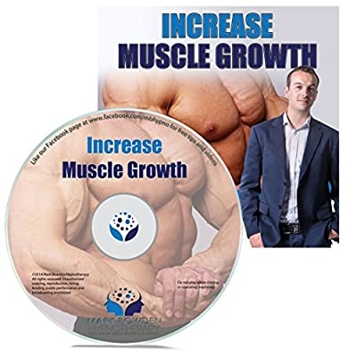 Increase Muscle Growth Hypnosis CD - bodybuilding and building muscle starts in your mind. Arnold Schwarzenegger new it and the professionals do to. Add this hypnotherapy recording to your protein, creatine and other supplements by Mark Bowden MSc BSc Dip