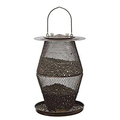 No/No MGNCD00352 Mixed Seed Lantern Feeder