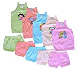 5 Frock And Matching Shorts for Kids (CO...