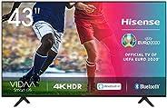 Hisense UHD TV 2020 43AE7000F - Smart TV Resolución 4K con Alexa integrada, Precision Colour, escalado UHD con