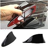 Benjoy Car Shark Fin Roof Antenna Radio FM/AM Car Accessories Decorate Black For All Car