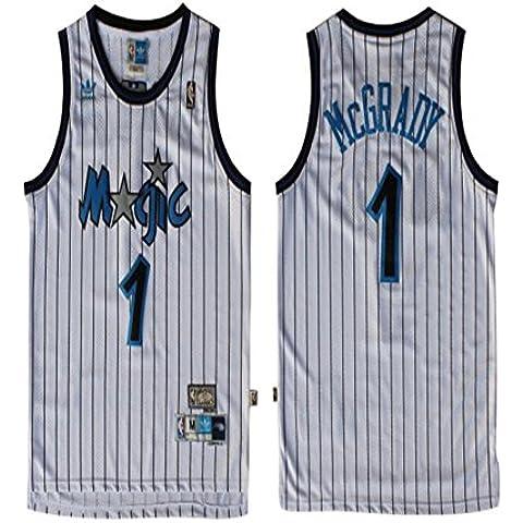 Orlando Magic 1 Tracy McGrady Trikot Herren Basketball Jersey Mens Shirt
