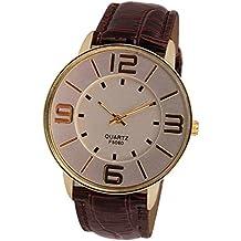 Sanwood Unisex Big Arabic Numerals Wrist Watch