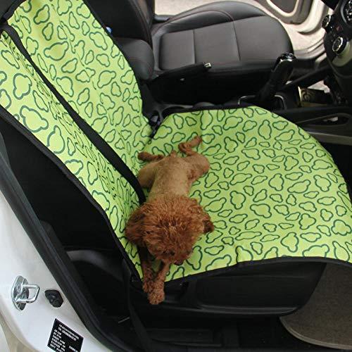 GGASN coprisedili Auto universali Domestici, coprisedile Anteriore, coprisedile Singolo, Cuscino per seggiolino Auto per Cani, V