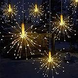 TechCode Lichterketten, 120LEDs Flexible batteriebetriebene Sternenhimmel Faltbare DIY dekorative Lichter Fernbedienung für Schlafzimmer, Garten, Party, Hochzeit, Weihnachten, Festival