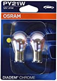 OSRAM DIADEM CHROME PY21W halogen, signallamp, turn signal...