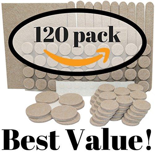 120-pack-100-premium-mobel-filz-pads-und-bonus-20-gerauschdampfenden-silikon-bumper-pads-perfekt-fur