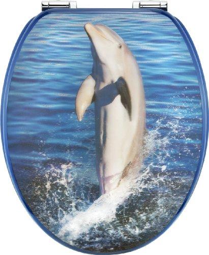 Cornat KSD706 Dekor 3-D WC-Sitz Dolphin Dekor