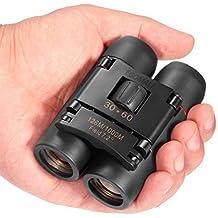 Egomall Mini télescope pliable 30 x 60 télescope optique Haute résolution pour le voyage et la chasse