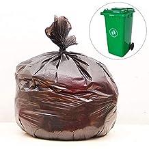 Wegwerp Vuilniszak, Black Reiniging Bag, Dik en scheurbestendig, geen geur, veilig en milieuvriendelijk, met grote capaciteit, waterdicht, essentieel for woning osmlvjj
