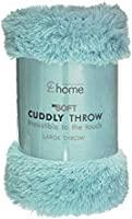 Catherine Lansfield Cuddly Throw - Duckegg