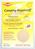 Camping-Bügelstoff, sandfarben