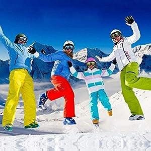 Iiloens Unisex Windschutzscheibe Ski Snowboard Motorrad Radfahren Brille Berg Brille