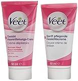Veet Gesicht Haarentfernungs-Creme Set für...