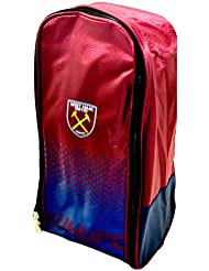 Fußballschuh-Tasche, mit Reißverschluss, mit Griff, verschiedene Vereine erhältlich