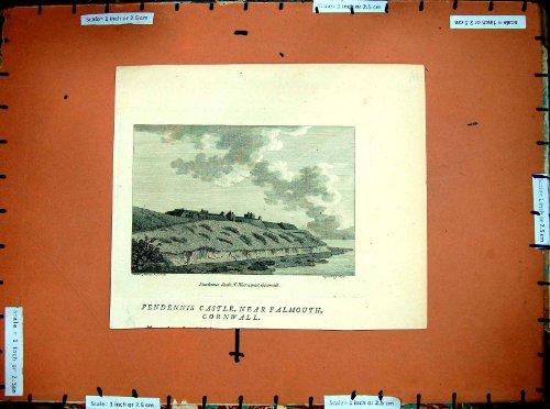 Castello 1786 di Pendennis Falmouth Cornovaglia Inghilterra (Castello Pendennis)