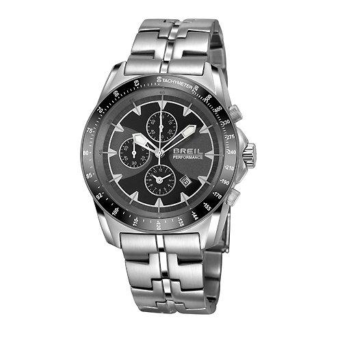 Breil orologio da uomo con cronografo e argento in acciaio INOX TW1135