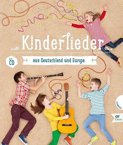 Kinderlieder aus Deutschland und Europa: Liederbuch mit Mitsing-CD (LIEDERPROJEKT)
