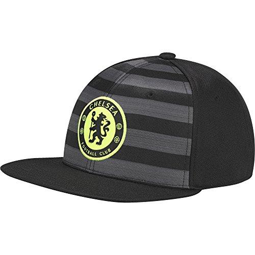 adidas FC Chelsea Flat Mütze, Black, OSFM