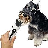 Wawoo® Tierhaarschneider Harrschneidermaschine Profi Rasierer für Tiere Hunde Katze Trimmer Wiederaufladbar Elektrischer Tierhaarschneidemaschine Set mit 2 Kammaufsätzen 3-9、6-12mm - 4