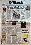 MONDE (LE) [No 18861] du 14/09/2005 - SUPPLEMENT - FESTIVAL D'AUTOMNE NORVEGE - LA GAUCHE REMPORTE LES ELECTIONS LEGISLATIVES SOCIETE - L'HUMILIATION DES ELEVES HIGH TECH - EBAY S'OFFRE SKYPE ORACLE RACHETE SIEBEL MEDECINE - LES ACCIDENTS VASCULAIRES CEREBRAUX MEDIAS - BATAILLE D'IMAGES AUTOUR DE L'OBESITE ASTRONOMIE - EXPLOSION COSMIQUE A 10 000 MILLIARDS DE KM DE LA TERRE INTERNATIONAL INDISPENSABLE ET IMPOSSIBLE REFORME DE L'ONU SCIENCES - LES OISEAUX MIGRATEURS ET L