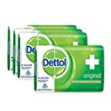 Dettol Original Soap, 125g (Buy 3 Get 1 Free)
