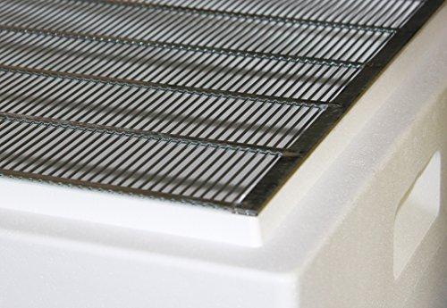 Germerott Bienentechnik Metall Absperrgitter für Dadant Blatt 10 W 384 x 473 mm