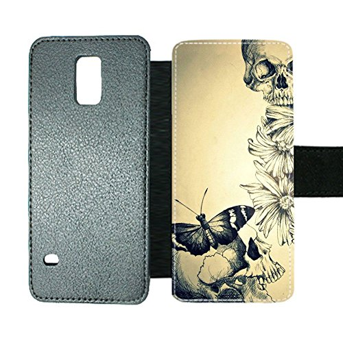 Print Butterfly 3 Unusual For Man For Galaxy Note 4 Samsung Card Slot (Galaxy Note 4 Louis Vuitton)