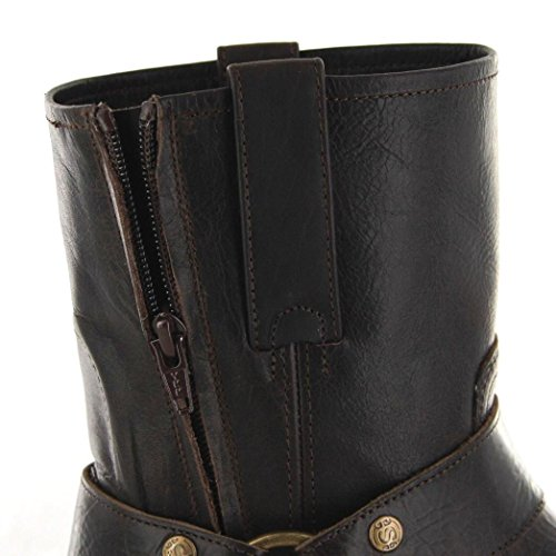 Sendra Boots  9795, Boots biker homme Marron - Chocolat