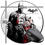 Batman Arkham City Harley Quinn A Tappetino per Mouse Tondo Round Mousepad PC