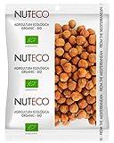 Nuteco Avellana Cruda BIO - 3 Paquetes de 180 gr - Total: 540 gr
