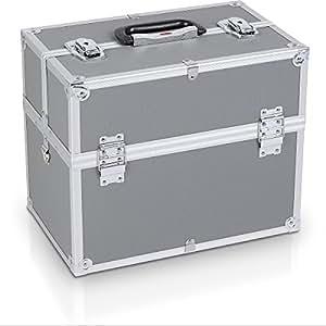 alu koffer mit fachbodeneinsatz prm10119 baumarkt. Black Bedroom Furniture Sets. Home Design Ideas