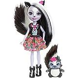 Mattel Enchantimals DYC75 - Stinktiermädchen Sage Skunk, Puppe