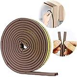 VOLO Soundproofing, Dust Proof Door/Window Self Adhesive Door Seal Strip 6 Meters(D Shape)