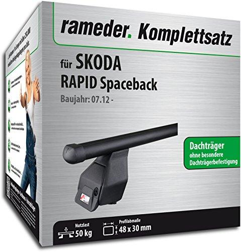 Rameder Komplettsatz, Dachträger Tema für Skoda RAPID Spaceback (118786-11519-13)