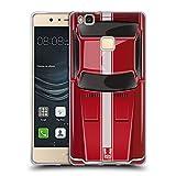 Head Case Designs Speed Rot Klassische Automobile Soft Gel Hülle für Huawei P9 Lite / G9 Lite