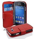 Cadorabo Coque pour Samsung Galaxy Trend Lite Inferno Rouge