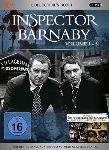 Inspector Barnaby - Collector's Box 1, Vol. 1-5 (20 Discs) Fiona Music Box
