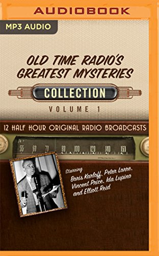 Old Time Radio's Greatest Mysteries Collection: 1