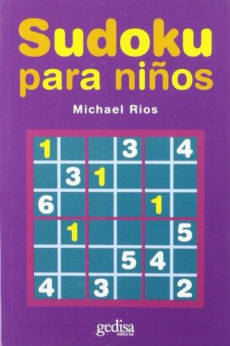 Sudoku para niños (Juegos (gedisa)) por Michael Rios