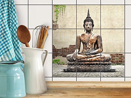 fliesenfolie-selbstklebend-15x15-cm-3x3-design-relaxing-buddha-erholung-klebefolie-kuche-bad