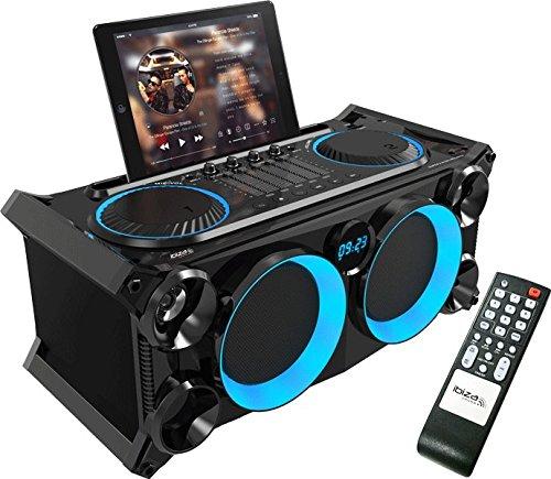 Ibiza 15-2530 Transportable Audio Sterepo Anlage mit Batterie, Bluetooth, USB, SD und FM Tuner