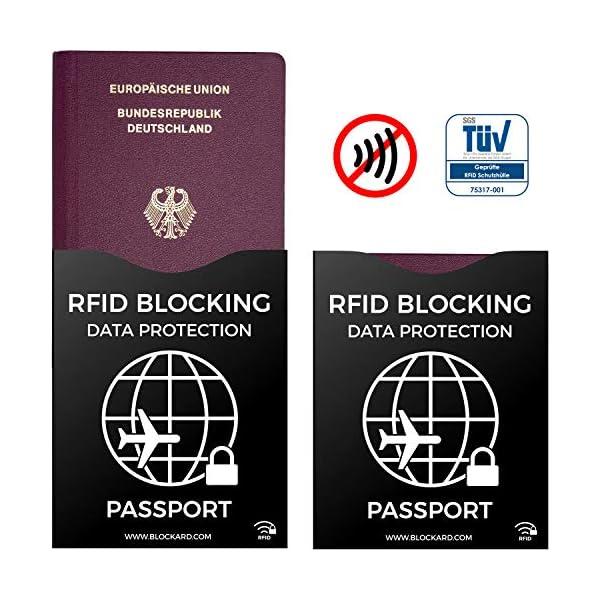 RFID Blocking NFC Custodia protettiva (12 pezzi) per carta di credito, carta bancomat, carta d'identità, passaporto… 3 spesavip
