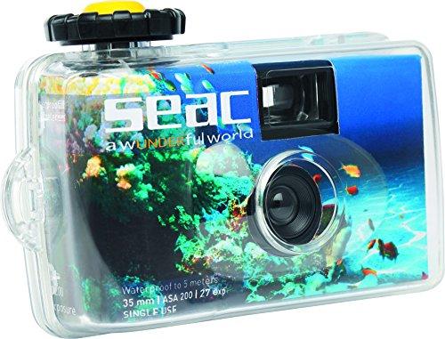 einwegunterwasserkamera Seac Unterwasser Kamera 5 mt für den Urlaub, Schnäppchen