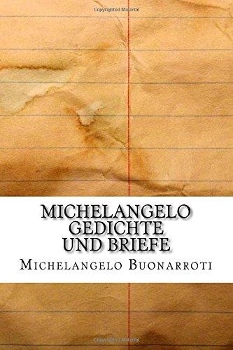 Michelangelo Gedichte und Briefe
