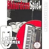 AKKORDEON SPIEL (Band 2) (+CD) inkl. praktischer Notenklammer - Das Spiel- und Lehrbuch für Fortgeschrittene mit Musik rund um den Globus - von Klezmer bis TexMex, von Blues bis Latin Jazz (Taschenbuch) von Peter Michael Haas (Noten/Sheetmusic)