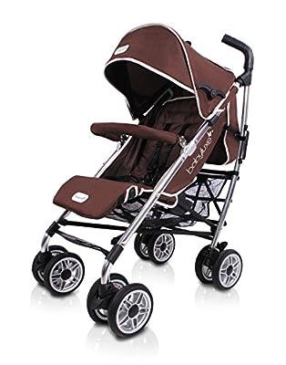 Baby Luxe 3022000200003 - Silla de paseo, chasis brillo, base marrón