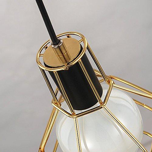 Light Fixtures Uae: E27 Vintage Metal Cage Pendant Lamps Lighting
