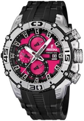 Festina 16600/8 - Reloj cronógrafo de cuarzo para hombre con correa de plástico, color negro